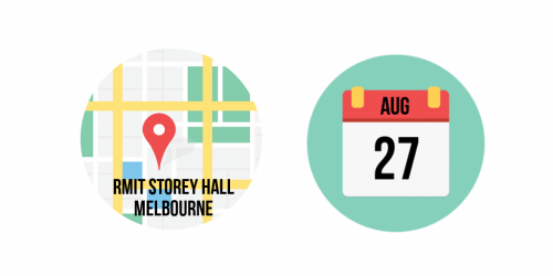 27th August at RMIT Storey Hall, Melbourne